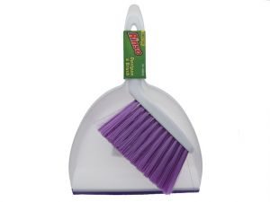 RINSO PLASTIC DUST PAN WITH BRUSH  XXX