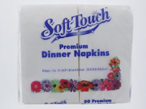 SOFT TOUCH DINNER NAPKIN 50 COUNT