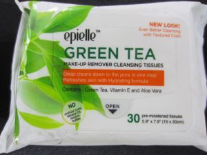 CLEANSING TISSUE GREEN TEA