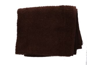BROWN HAND TOWEL 16 IN X 27 IN