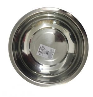 BOWL 12.8 INCH STAINLESS STEEL BOWL 12.8 IN DIA