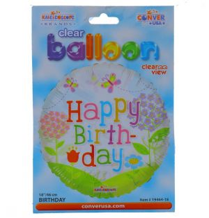 HAPPY BIRTHDAY NON LATEX BALLOON 18 INCH