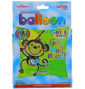GET WELL SOON NON LATEX BALLOON 18 INCH