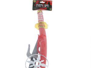 NINJA SWORD WITH KNIFE