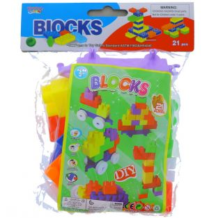 BUILDING BLOCKS 21 COUNT
