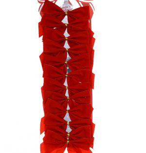 VELVET RED BOW 12 PACK