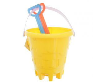 SAND BUCKET 6 INCH WITH 2 SAND TOOLS