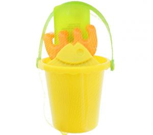 SAND PLAY SET BUCKET WITH TOOLS