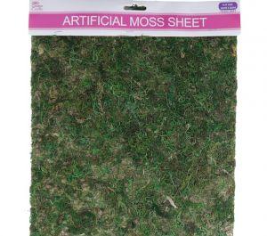 ARTIFICAL MOSS SHEET 30 X 50 CM