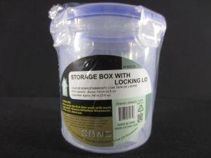 Round Tall Storage Container with Locking Lid 25 Fl. Oz
