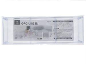 TEMPURED PLASTIC 3 SECTION ORGANZIER