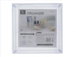 TEMPURED PLASTIC SQUARE ORGANIZER