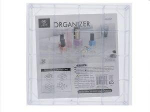 TEMPURED PLASTIC 16 SECTION ORGANIZER