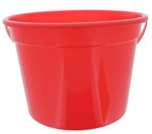 RED PLASTIC PAIL