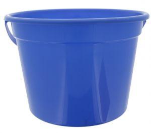 ROYAL BLUE PLASTIC PAIL