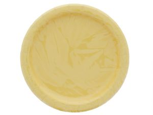 Yellow 7 Inch Dessert Plates 20 Count