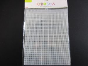 KNIT AND SEW RECTANGLE PLASTIC CANVAS