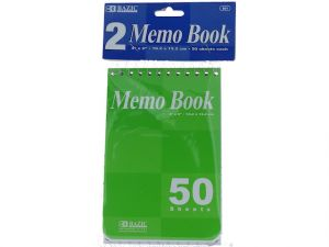 Top Bound Spiral Memo Books 4X6IN