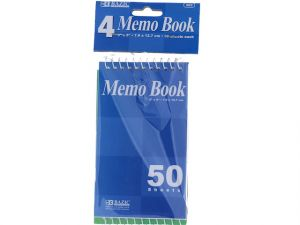 Top Bound Spiral Memo Books 3X5IN