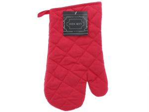 SOLID QUILTED OVEN MITTS