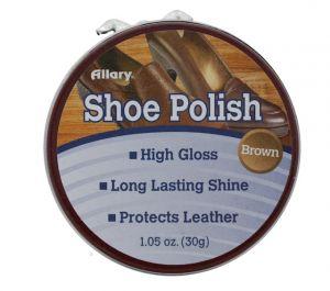 SHOE POLISH BROWN 1.4Z