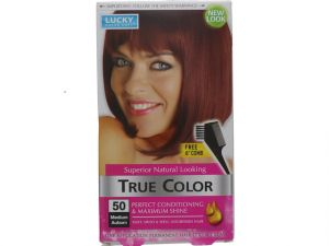 HAIR COLOR MEDIUM AUBURN