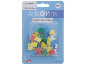 FLAG PINS 50PC