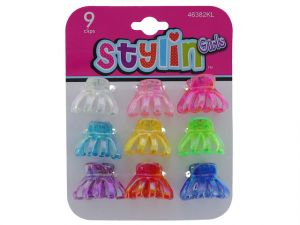 SM KIDS HAIR CLIPS 9PC