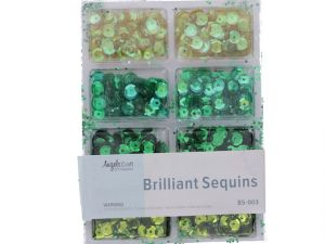 BRILLIANT SEQUINS GREEN
