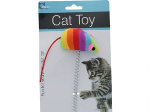 CAT TOY W SUCTION CUP